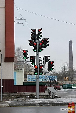 Веселый светофор